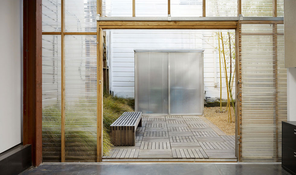 Interstice Architects 187 Mission House