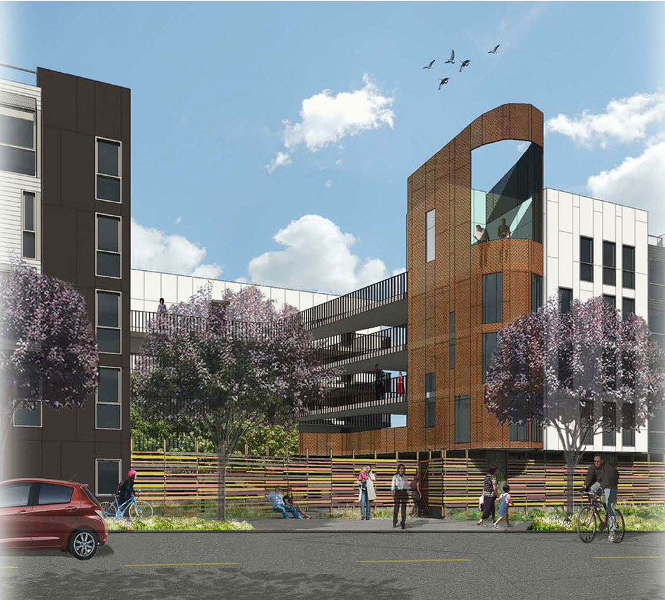 Cheap Apartments In San Francisco: INTERSTICE Architects » Pacific Point Apartments At Hunter