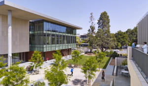 Stanford University, CJ Huang Building at 780 Welch