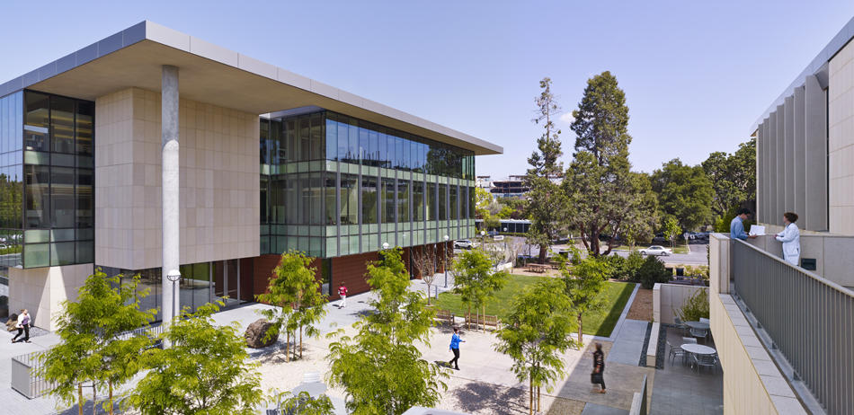 INTERSTICE Architects Stanford University CJ Huang Building at