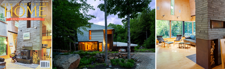 MOUNTAIN:house featured on Cover of NH Home Magazine